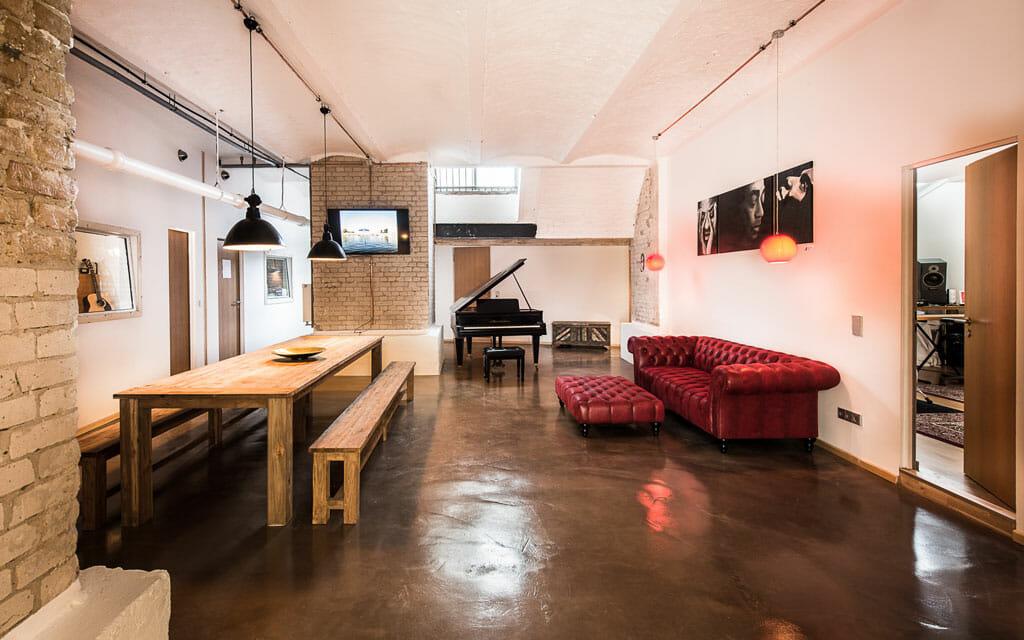 Riverside studios meeting area
