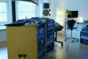 343 Labs Riverside Studios Rack Setup