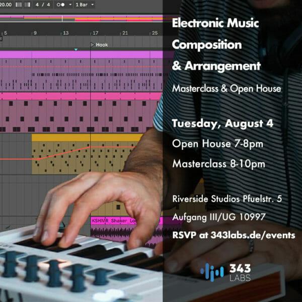 Electronic Music Composition & Arrangment Masterclass Version 3.1