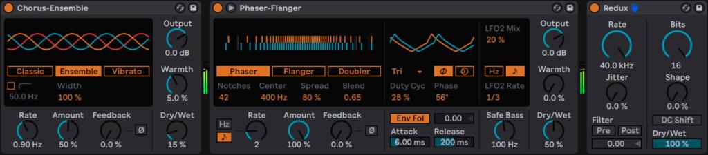 Chorus Phaser and Redux