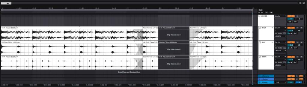 Linked Track Editing